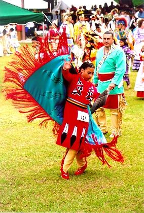 The 19th annual Tunica-Biloxi Pow Wow, May 2014.