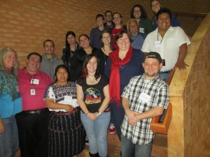 The participants of the 2015 Tunica language immersion camp